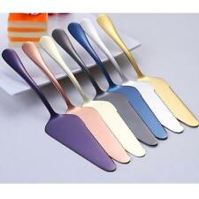 Stainless Steel Scraper Cream Butter Spatula Cake Decor Tool 22cm 7 Colors