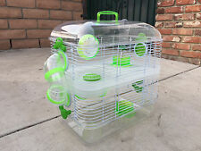 3 Color, New Sparkle 2 Levels Habitat Hamster Rodent Gerbil Mouse Mice Cage 159