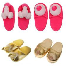 Hen Party Willy Boob Slipper Fancy Dress Adult Shoes Costume Novelty Gag Gift