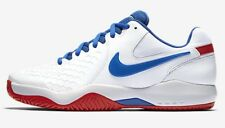 Nike COURT AIR ZOOM RESISTANCE MEN'S TENNIS SHOE White/Red- Size US 7,8,8.5 Or 9
