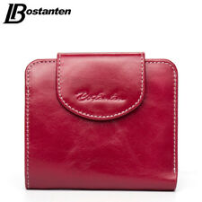 Cow Genuine Leather Women Wallets Luxury Small Wallet Credit Card Holder Purse