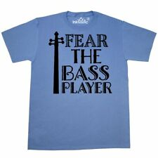 Inktastic Fear The Bass Player Music T-Shirt String Musician Orchestra Symphony