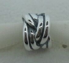 Genuine Pandora Sterling Silver 925 ALE Silver Knot Bead/Charm