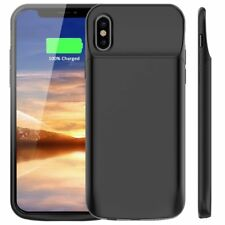 External Magnetic Backup Power Bank Battery Backup Charger Case For iPhone X