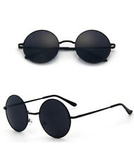 Polarized Retro Fashion Unisex Round Sunglasses Men Women Metal Frame Eyewear