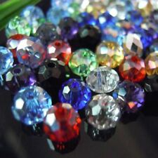 Mixed Colors 4 6mm 100pcs Rondelle Austria faceted Crystal Glass Beads Loose Sp