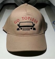 JEEP LOVER Hat - Classy EMBROIDERED with TOPLESS 2 DESIGN - CRUSHPROOF BOX