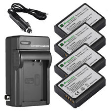 1500mAh LP-E10 Battery + Charger For Canon Rebel T3 Rebel T5 KISS X50 EOS 1100D