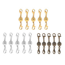 5Pcs Shiny Chic Ball Lobster Magnetic Clasps Jewelry Findings DIY 8mm