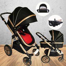 4 in 1 Baby Toddler Pram Stroller With Bassinet Foldable Pushchair Travel Jogger