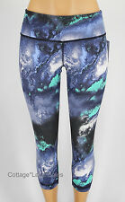 NEW LULULEMON Wunder Under Crop 4 6 Milky Way Denim Luon Crops NWT FREE SHIP