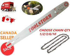 """24/25"""" TOOLSTORM Pro Chainsaw Bar & Chain Combo 3/8 .063 84DL Stihl MS660 MS390"""