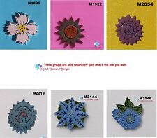 Flower - HANDMADE, CERAMIC MOSAIC TILES for your Project ( Pick you Flower ) #1