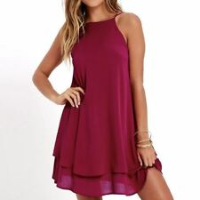 Chiffon Dress Sexy Mini Casual Dresses Spaghetti Strap A Line Off Shoulder Dress