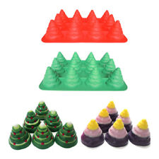 3D Christmas Trees Silicone Mould Candy Cake Chocolate Mold Decorating Fondant