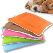 Bolster Pet Bed for Dogs Cats Washable Pet Warm Soft Fleece House Pad Mat Beds