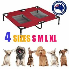 RED Heavy Duty Pet Dog Cat Summer Bed Trampoline Hammock Cot Size S M L XL RL
