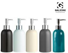 Galzone Kitchen Bathroom Soap Dispenser with Pump in Black White Stone Grey Blue