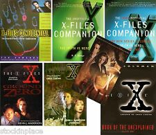 X-FILES Multi Listing BOOKS now out of print FREE UK POSTAGE