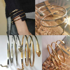 Punk Coiled Snake Spiral Upper Arm Cuff Armlet Armband Bangle Bracelet Utility
