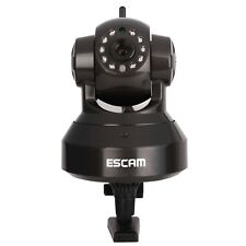 ESCAM IR Night Vision Pan/Tilt Wireless Security IP Camera 720P P2P SD Card