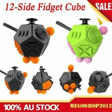 12 Side Fidget Cube Adults Stress Relief Anti anxiety Magic Cubes Kid Gift Toy S