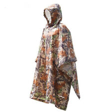 Rain Cover Outdoor Poncho Raincoat Backpack Camping Hiking Tent Mat Climbing One