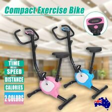 Compact Exercise Bike Fitness Training Home Gym Trainer Cycle Spin Fit Cycling W