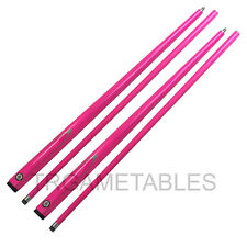 Pink Full Length 2-Piece Pool Snooker Billiard Cue - Wood Core Graphite Shell AU