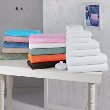 8 pc Bath Sheet & Bath Towel Plush Turkish Cotton Towels Quick Dry Many Colors