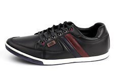 Mens Casual Lace Up Trainers Smart Flat Driving Shoes Plimsolls Espadrilles Size