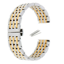 Polished Stainless Steel Watch Band Link Bracelet Strap for Watch iWatch 20/22mm