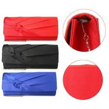 Women's Bridal Wedding Party Evening Prom Envelope Clutches Bag Handbag Purses