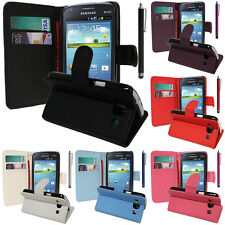 Cases for Samsung Galaxy Core i8260 / Dual Phone Briefcase Flip Case