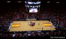 2 Pelicans vs Miami Heat 12/23 Tickets 13th Row Center Court American Airlines