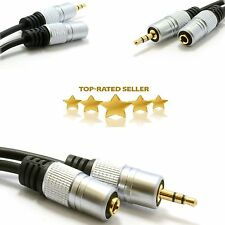 OFC 3.5mm Jack Male plug to Female Socket Extension Stereo Aux Audio Cable
