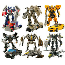 Transformers Action Figures Kids Toys Optimus Prime Ironhide Bumble Bee Robot^