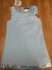 David Charles girl blue velour dress 2-3, 4-5 y BNWT special occasion party