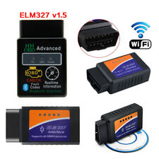 ELM327 OBD2 Car WiFi/Bluetooth Diagnostic Scanner Tool for IOS/Android/Windows