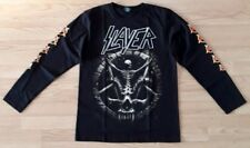 Slayer Long Sleeve Rock T-shirt Sizes S,M,L,XL