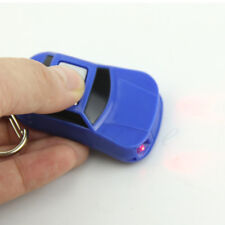 Car Shaped LED Torch Whistle Sound Control Key Finder Locator Finder Keychains