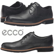 ECCO Findlay Plain Toe Tie Oxfords Work Comfort Walking Leather Business Shoes