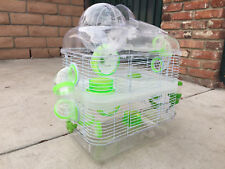 3 Color, Sparkle 3 Levels Habitat Hamster Rodent Gerbil Mouse Mice Exercise Ball