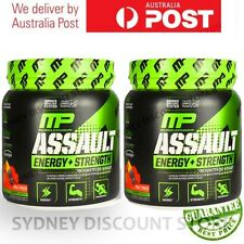 BULK SALE! MUSCLE PHARM ASSAULT 30 SERVES PRE WORKOUT 345g x 2 tubs = 60 serves