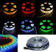 150FT LED Rope Light 110V Home Party Christmas Decorative In/Outdoor 2-Wire