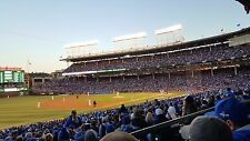 2 Chicago Cubs vs Milwaukee Brewers 4/27/2018 Wrigley Field