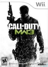 Call of Duty Modern Warfare 3 MW3 Nintendo Wii Video Game
