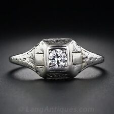 White Topaz 925 Silver Women Jewelry Ring Wedding Engagement Ring Size 6-10