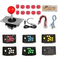 DIY Arcade Replacement Part 24/30mm Buttons USB Encoder 2Pin Cable PC Joystick