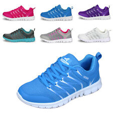 Women's Athletic Breathable Trainers Gym Jogging Sneakers Sport Running Shoes